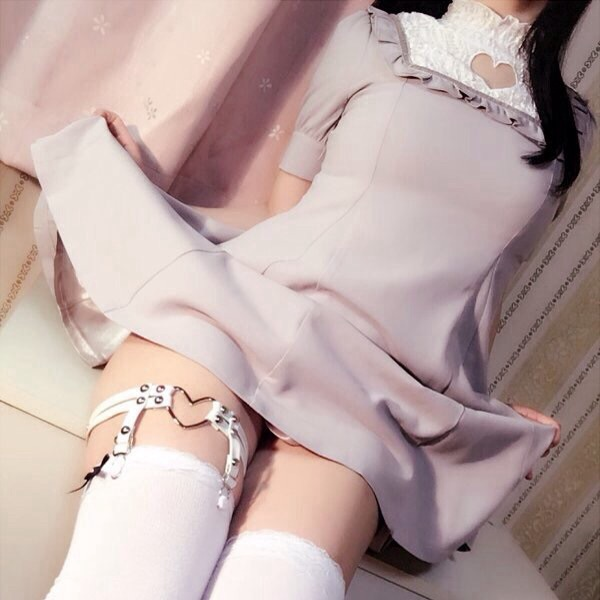 legs, garters, and thighhigh image