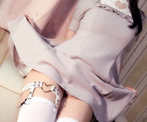 garters, thighhighs, and legs image