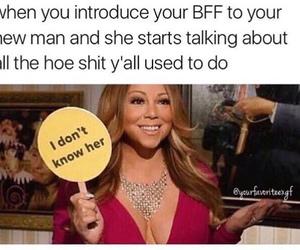funny, Mariah Carey, and memes image