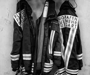 brave, passion, and firefighter image