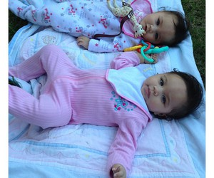 baby and sisters image