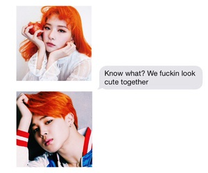 couple, kpop, and seulgi image