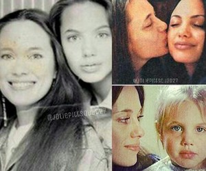 Angelina Jolie, family portrait, and mother and daughter image