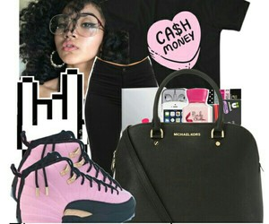 money and Polyvore image