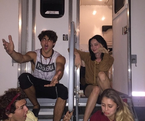 jc caylen, lia marie johnson, and tagged show image