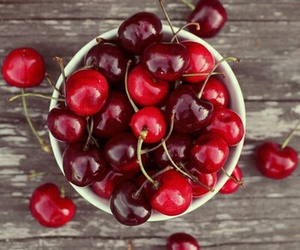 cherry, fruit, and food image