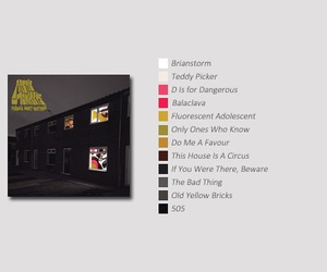 arctic monkeys, album, and favourite worst nightmare image