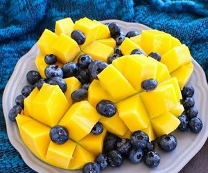 food, blueberry, and fitness image