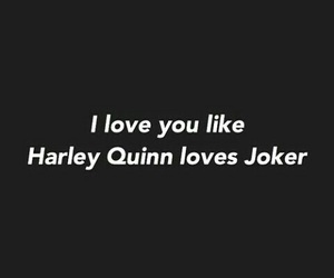 joker, harley quinn, and quotes image