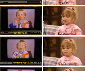 michelle, full house, and howie image