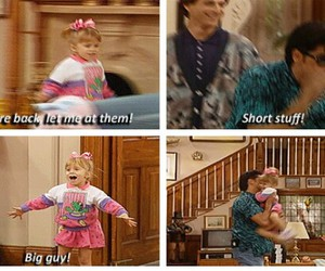 full house, h, and michelle image