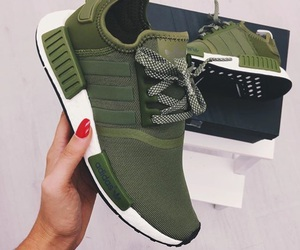 shoes, adidas, and green image