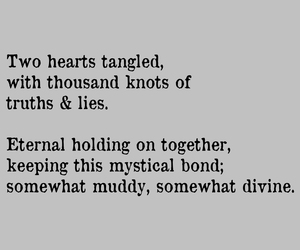 bond, knot, and truth image