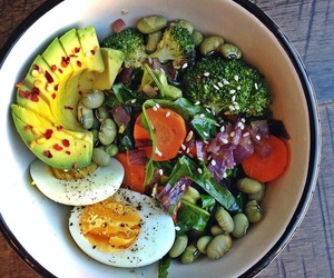 beautiful, diet, and food image