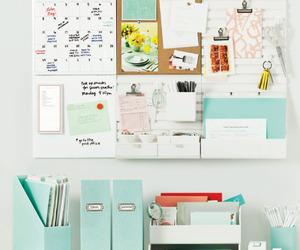 study, organization, and desk image