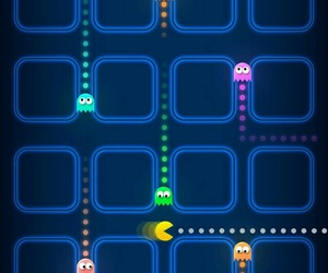 wallpaper, pacman, and game image
