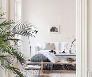 interior, Scandinavian, and white image