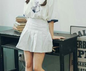 asian girl, korean girl, and cute image