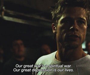 fight club, war, and movie image
