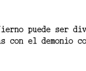 hell, frases, and demon image