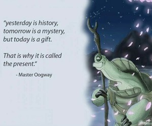 quotes, present, and kung fu panda image