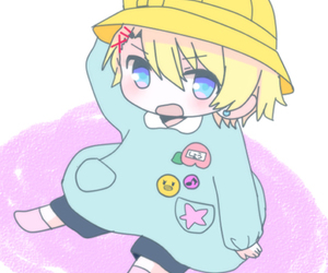 kindergarten, pixiv, and anime kids image