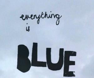 blue, lockscreen, and colors image