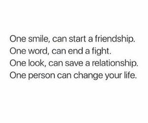 look, person, and smile image