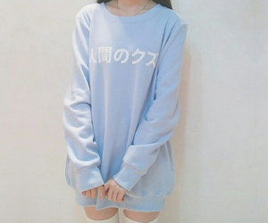 blue, aesthetic, and pastel image