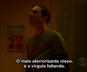 big bang theory, portuguese, and quote image