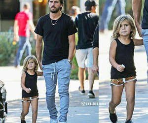 family, father, and scott disick image