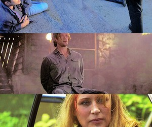 dean winchester, mary winchester, and sam winchester image