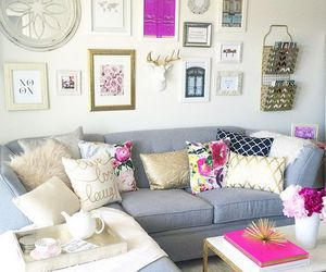 apartment, decor, and frames image
