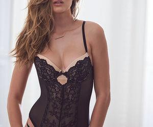 corset, fashion, and lace image