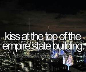 kiss, empire state building, and new york image