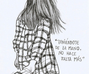 frases, couple, and art image