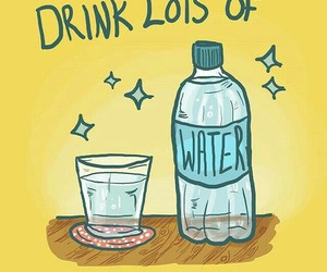 healthy, water, and motivation image