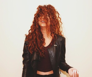 hair and curly hair image