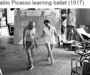 ballet and picasso image
