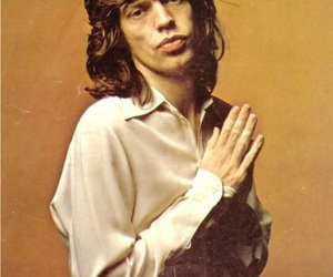 mick jagger and 70s image