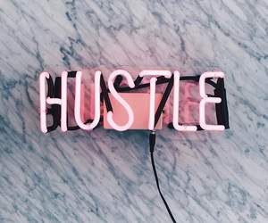 hustle, pink, and marble image