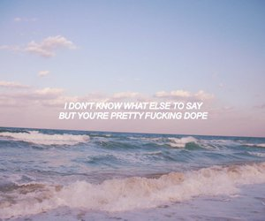 aesthetic, beach, and blue image
