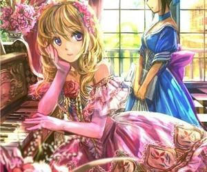 girl, princess, and anime princess image
