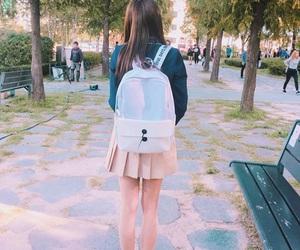 aesthetic, grunge, and korean girl image