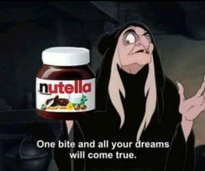 nutella, Dream, and chocolate image