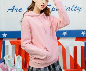asian fashion, fashion, and hoodie image