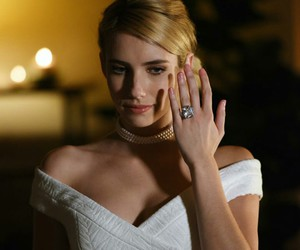 emma roberts, girl, and engagement image