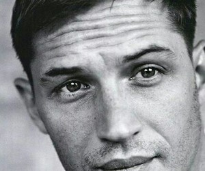 tom hardy, black and white, and boy image