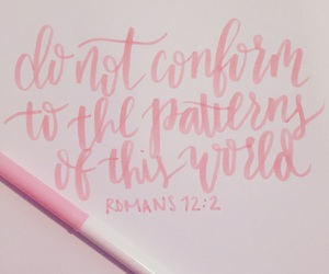 bible, handlettering, and pink image