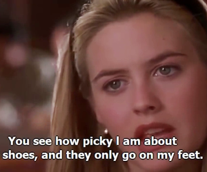 Clueless, movie, and shoes image